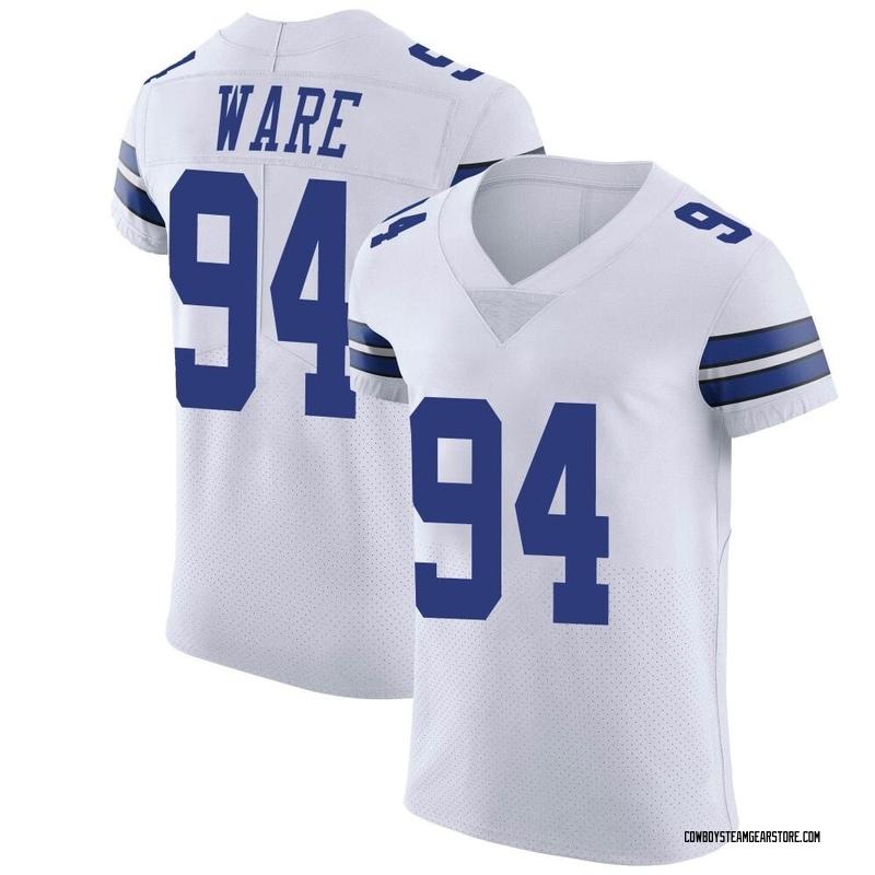 half off a5c0c e81b1 Men's Nike Dallas Cowboys DeMarcus Ware White Vapor Untouchable Jersey -  Elite