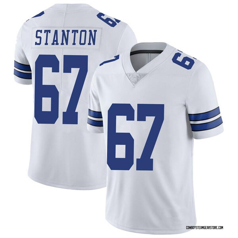 7184fc2b Men's Nike Dallas Cowboys Dustin Stanton White Vapor Untouchable Jersey -  Limited