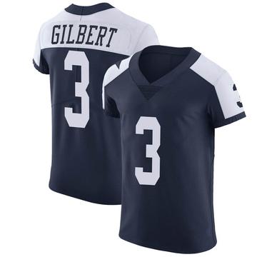 Men's Dallas Cowboys Garrett Gilbert Navy Alternate Vapor Untouchable Jersey - Elite
