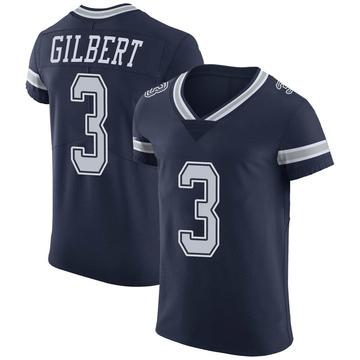 Men's Dallas Cowboys Garrett Gilbert Navy Team Color Vapor Untouchable Jersey - Elite