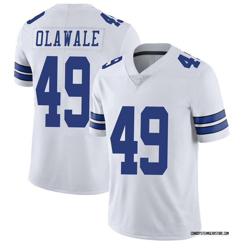 7cd3f50c Men's Nike Dallas Cowboys Jamize Olawale White Vapor Untouchable Jersey -  Limited