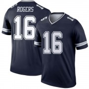 Men's Nike Dallas Cowboys Kendrick Rogers Navy Jersey - Legend