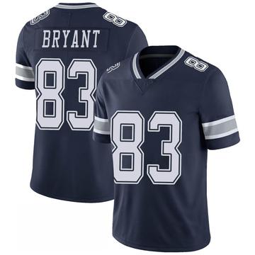 Men's Dallas Cowboys Ventell Bryant Navy 100th Vapor Jersey - Limited