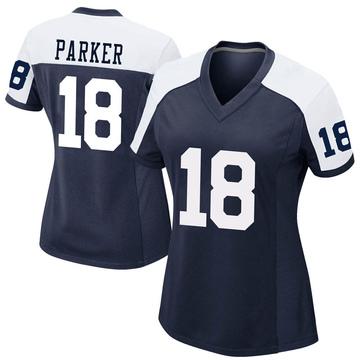 Women's Nike Dallas Cowboys Aaron Parker Navy Alternate Jersey - Game