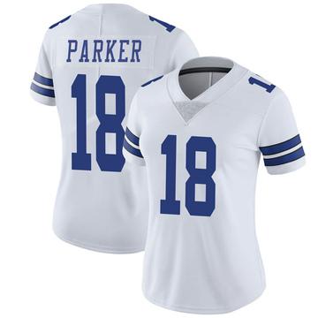 Women's Nike Dallas Cowboys Aaron Parker White Vapor Untouchable Jersey - Limited