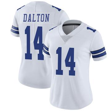 Women's Nike Dallas Cowboys Andy Dalton White Vapor Untouchable Jersey - Limited