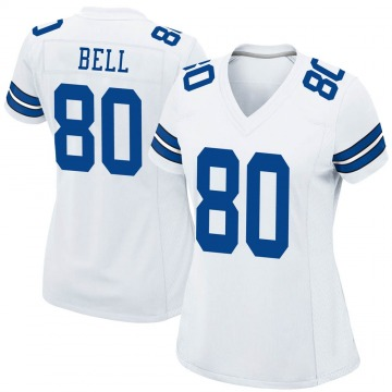 Women's Nike Dallas Cowboys Blake Bell White Jersey - Game