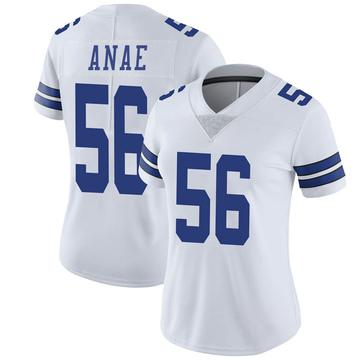 Women's Nike Dallas Cowboys Bradlee Anae White Vapor Untouchable Jersey - Limited
