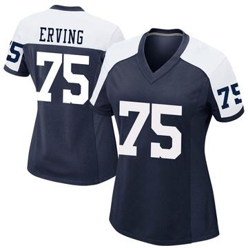 Women's Nike Dallas Cowboys Cameron Erving Navy Alternate Jersey - Game