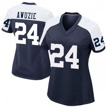 Women's Nike Dallas Cowboys Chidobe Awuzie Navy Alternate Jersey - Game