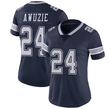 Women's Nike Dallas Cowboys Chidobe Awuzie Navy Team Color Vapor Untouchable Jersey - Limited