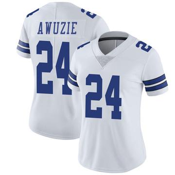 Women's Nike Dallas Cowboys Chidobe Awuzie White Vapor Untouchable Jersey - Limited