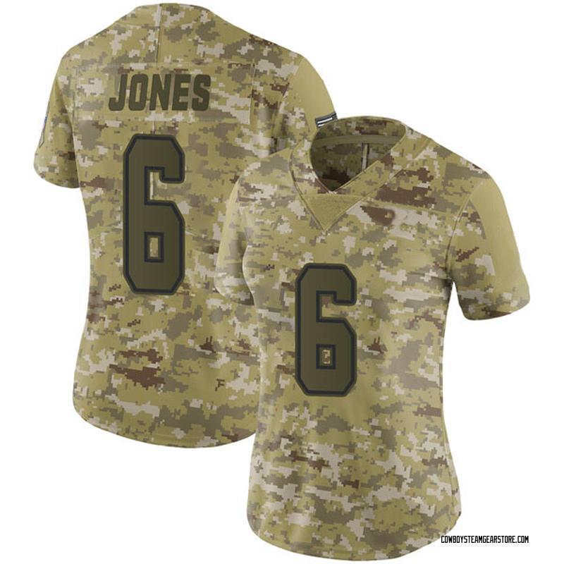 sports shoes e96df 0d3ce Women's Nike Dallas Cowboys Chris Jones Camo 2018 Salute to Service Jersey  - Limited