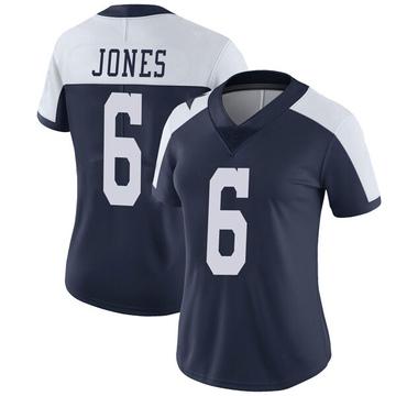 Women's Nike Dallas Cowboys Chris Jones Navy Alternate Vapor Untouchable Jersey - Limited