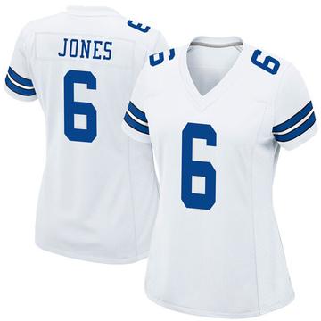 Women's Nike Dallas Cowboys Chris Jones White Jersey - Game