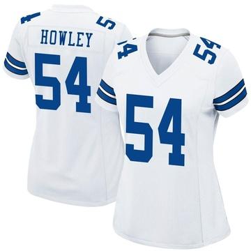 Women's Nike Dallas Cowboys Chuck Howley White Jersey - Game