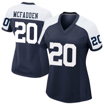 Women's Nike Dallas Cowboys Darren McFadden Navy Alternate Jersey - Game