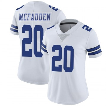 Women's Nike Dallas Cowboys Darren McFadden White Vapor Untouchable Jersey - Limited