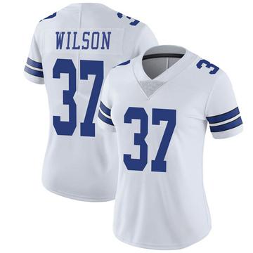 Women's Nike Dallas Cowboys Donovan Wilson White Vapor Untouchable Jersey - Limited