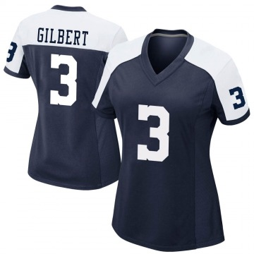 Women's Nike Dallas Cowboys Garrett Gilbert Navy Alternate Jersey - Game