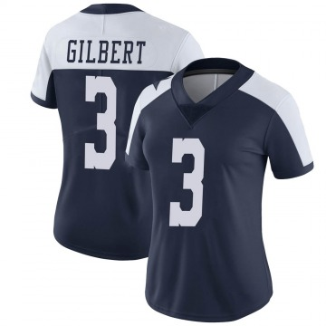 Women's Nike Dallas Cowboys Garrett Gilbert Navy Alternate Vapor Untouchable Jersey - Limited