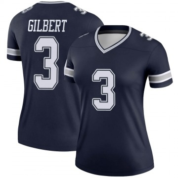 Women's Nike Dallas Cowboys Garrett Gilbert Navy Jersey - Legend