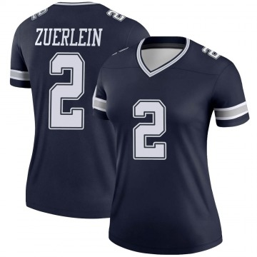 Women's Nike Dallas Cowboys Greg Zuerlein Navy Jersey - Legend