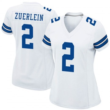 Women's Nike Dallas Cowboys Greg Zuerlein White Jersey - Game
