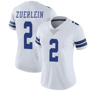 Women's Nike Dallas Cowboys Greg Zuerlein White Vapor Untouchable Jersey - Limited