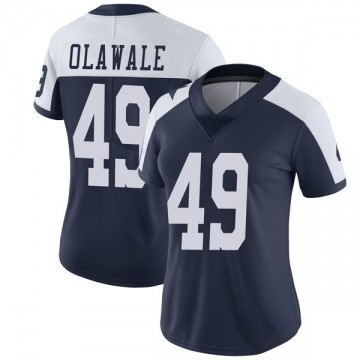 Women's Nike Dallas Cowboys Jamize Olawale Navy Alternate Vapor Untouchable Jersey - Limited