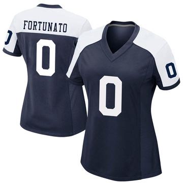 Women's Nike Dallas Cowboys Joe Fortunato Navy Alternate Jersey - Game