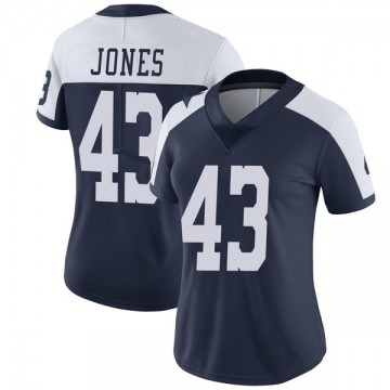 Women's Nike Dallas Cowboys Joe Jones Navy Alternate Vapor Untouchable Jersey - Limited