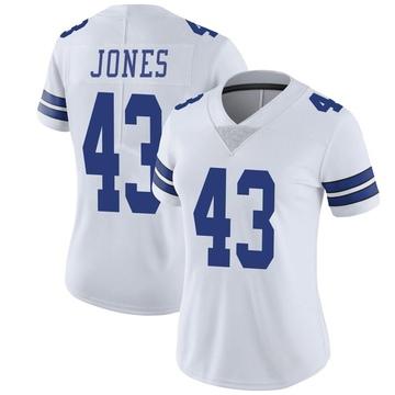Women's Nike Dallas Cowboys Joe Jones White Vapor Untouchable Jersey - Limited