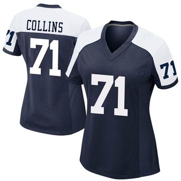 Women's Nike Dallas Cowboys La'el Collins Navy Alternate Jersey - Game