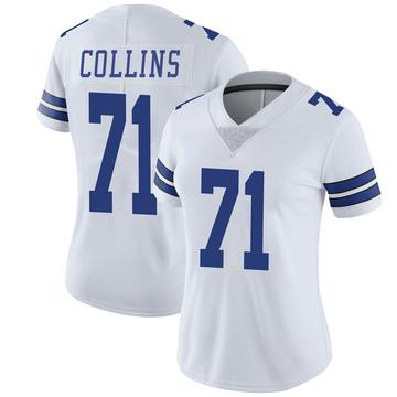 Women's Nike Dallas Cowboys La'el Collins White Vapor Untouchable Jersey - Limited
