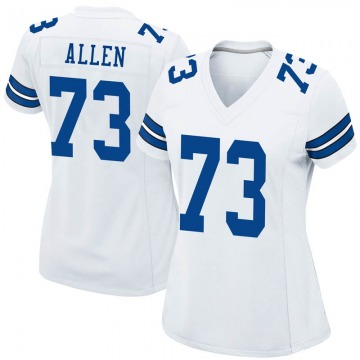 Women's Nike Dallas Cowboys Larry Allen White Jersey - Game