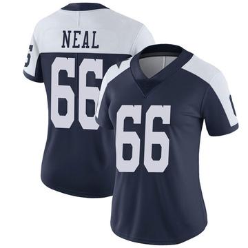 Women's Nike Dallas Cowboys Lewis Neal Navy Alternate Vapor Untouchable Jersey - Limited