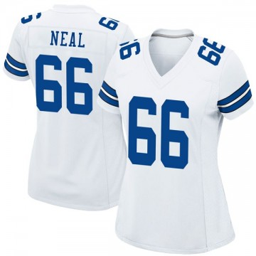 Women's Nike Dallas Cowboys Lewis Neal White Jersey - Game