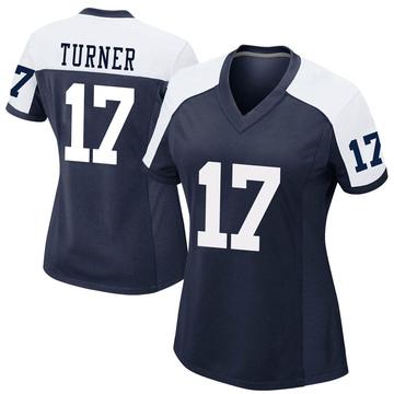 Women's Nike Dallas Cowboys Malik Turner Navy Alternate Jersey - Game