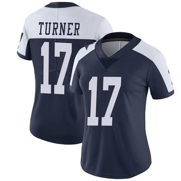 Women's Nike Dallas Cowboys Malik Turner Navy Alternate Vapor Untouchable Jersey - Limited