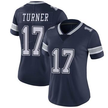 Women's Nike Dallas Cowboys Malik Turner Navy Team Color Vapor Untouchable Jersey - Limited