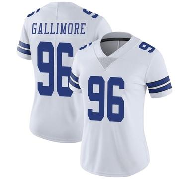 Women's Nike Dallas Cowboys Neville Gallimore White Vapor Untouchable Jersey - Limited