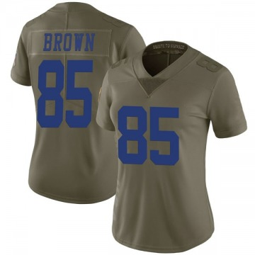 Women's Nike Dallas Cowboys Noah Brown Green 2017 Salute to Service Jersey - Limited
