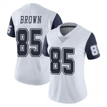 Women's Nike Dallas Cowboys Noah Brown White Color Rush Vapor Untouchable Jersey - Limited