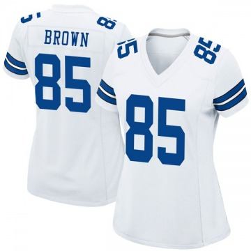 Women's Nike Dallas Cowboys Noah Brown White Jersey - Game