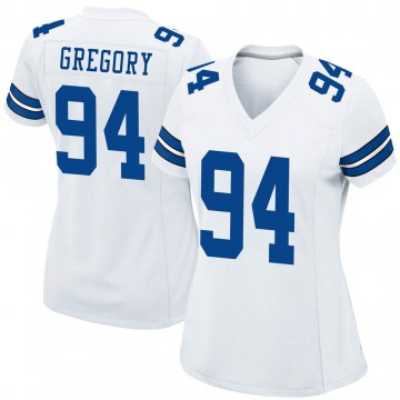 Women's Nike Dallas Cowboys Randy Gregory White Jersey - Game