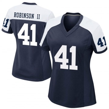 Women's Nike Dallas Cowboys Reggie Robinson II Navy Alternate Jersey - Game