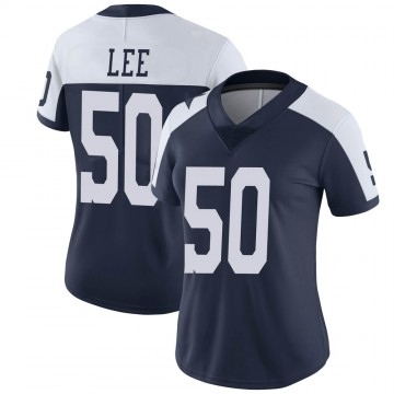 Women's Nike Dallas Cowboys Sean Lee Navy Alternate Vapor Untouchable Jersey - Limited