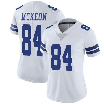 Women's Nike Dallas Cowboys Sean McKeon White Vapor Untouchable Jersey - Limited