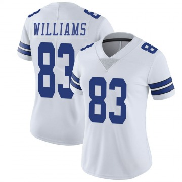 Women's Nike Dallas Cowboys Terrance Williams White Vapor Untouchable Jersey - Limited